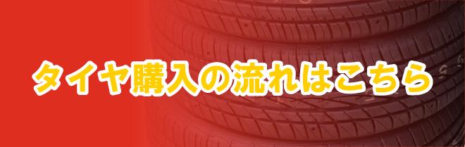 タイヤ購入の流れ